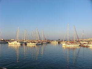 Rethymno - The new port