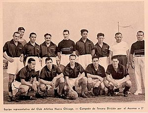 Club Atlético Nueva Chicago - The team that won its second title, the Primera C championship in 1940.