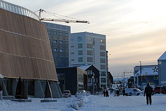 Nuuk - Image: Nuuk and Katuaq Visit Greenland