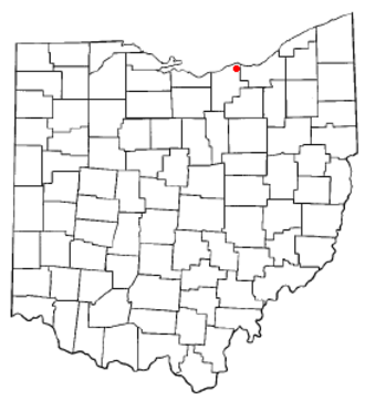 Avon, Ohio - Image: OH Map doton Avon