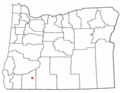 ORMap-doton-Butte Falls.png