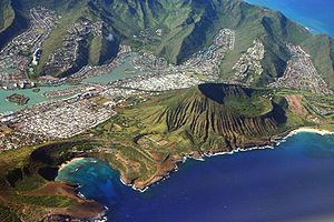 Southeast Oahu showing Hawaii Kai, Hanauma Bay...