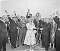 Officiële proefvaart van de s.s. Rotterdam in aanwezigheid van koningin Juliana , Bestanddeelnr 910-6007.jpg