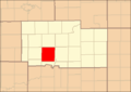 Ogle County Illinois Map Highlighting Pine Creek Township.png