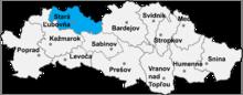 Okres Stará Ľubovňa in the Prešov Region