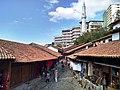Old Baazar and a new Hotel of Kruja.jpg