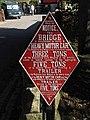 Old Bridge sign - geograph.org.uk - 1560679.jpg
