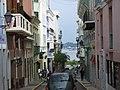 Old San Juan Street, Puerto Rico 2007.jpg