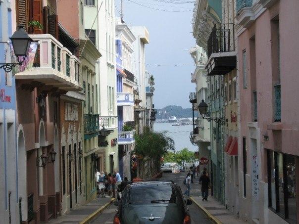 Old San Juan Street, Puerto Rico 2007