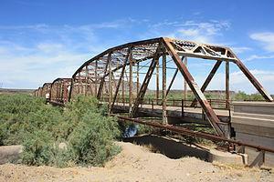 U.S. Route 80 in Arizona - 1927 Gila River Bridge