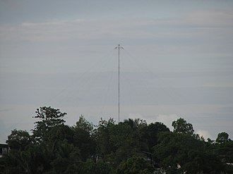 Omega (navigation system) - Omega Tower Paynesville, Liberia