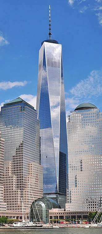 Financial District, Manhattan - Image: One World Trade Center cropped 2