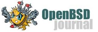 OpenBSD Journal - Image: Open BSD Journal Logo