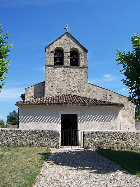 Church of Origne (Gironde, France)