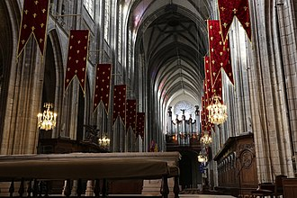 Orléans Cathedral - View of the nave