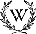 Ornamented W in Czechoslovakia's tribute to the memory of Woodrow Wilson.jpg