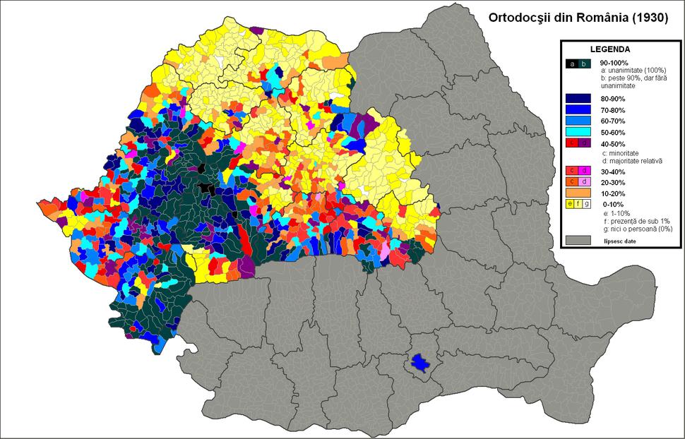 Ortodocsi Romania (1930)