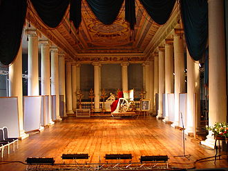 Ostankino Palace - The Ostankino Ballroom Theatre is one of the most perfectly preserved 18th-century theaters in the world. It still operates some of the original machinery.