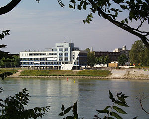 East Asia Institute (Ludwigshafen) - East Asia Institute at the Rhine River in Ludwigshafen