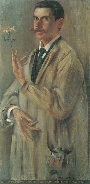 Otto Eckmann - Otto Eckmann by Lovis Corinth