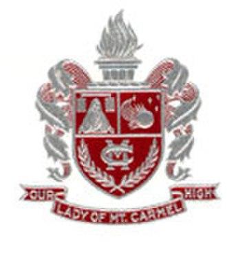 Our Lady of Mount Carmel High School (Wyandotte, Michigan) - Image: Our Lady of Mount Carmel High School Crest