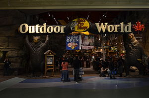 Vaughan Mills - Outdoor World