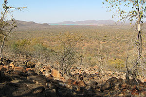 Overlooking Mokolodi Nature Reserve, just outs...