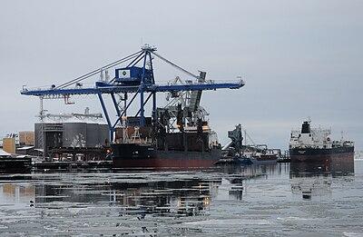 Hamnen i Oxelösund