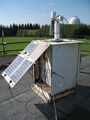 Sun photometer - Sun photometer CIMEL 318A in Tõravere.