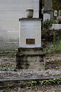 Père-Lachaise - Division 39 - Riel de Beurnonville 01.jpg