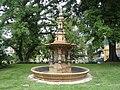 Pécs 2014, Zsolnay Kulturális Negyed, Herkules kút.jpg