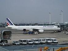 l'Airbus A321 F-GTAJ