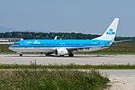 PH-BCE Boeing B737-8K2 Winglets B738 - KLM (18853526725).jpg