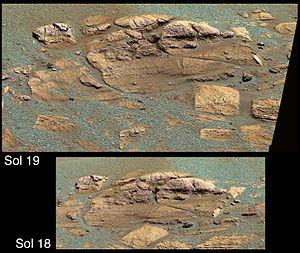 El Capitan (Mars) - Image: PIA05457 modest