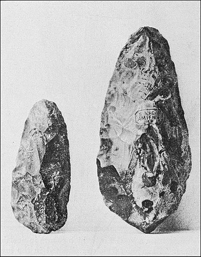 PSM V39 D330 Paleolithic tools from Newcomerstown and Amiens.jpg