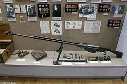 PTRS rifle at Great Patriotic War museum in Smolensk.jpg