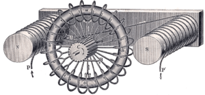 Antonio Pacinotti - Pacinotti-Gramme ring armature