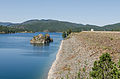 Pactola Lake, SD, Southwest view from Pactola Dam 20110822 2.jpg