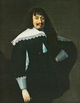 Painting of Martin Opitz by Bartholomäus Strobel