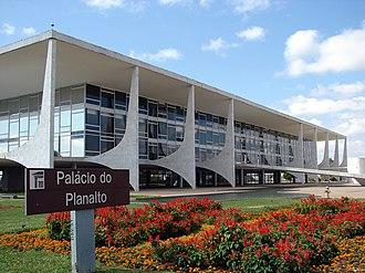 Palácio do Planalto - Image: Palácio do Planalto