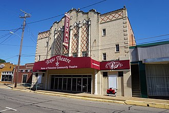 Palestine, Texas - The Texas Theatre hosts community events.