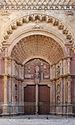 Palma de Mallorca Cathedral portal.jpg