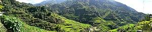 Banaue Rice Terraces - Image: Pana Banaue Rice Terraces