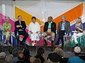 Panel for United States Secretaries of Health and Human Services at Spotlight Health Aspen Ideas Festival 2015.JPG