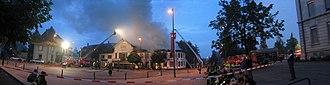Biberist - Biberist St. Urs restaurant completely burnt down