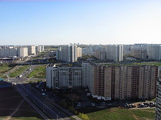 Severnoye Butovo District District in Moscow, Russia