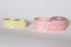 Punched tape - Five-hole and eight-hole punched paper tape