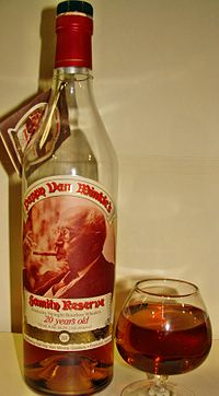 Bottle of Pappy Van Winkle