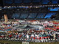 Parade of Nations during the London 2012 Olympic Games Opening Ceremony.JPG