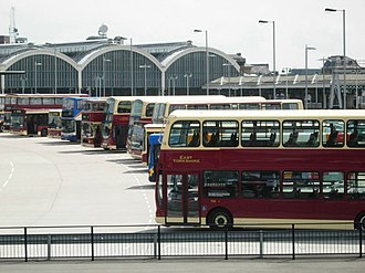 East Yorkshire Motor Services - East Yorkshire Motor Services buses at Hull Paragon Interchange in May 2008